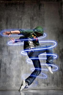 PS滤镜高级教程之打造人物全身加上发光效果