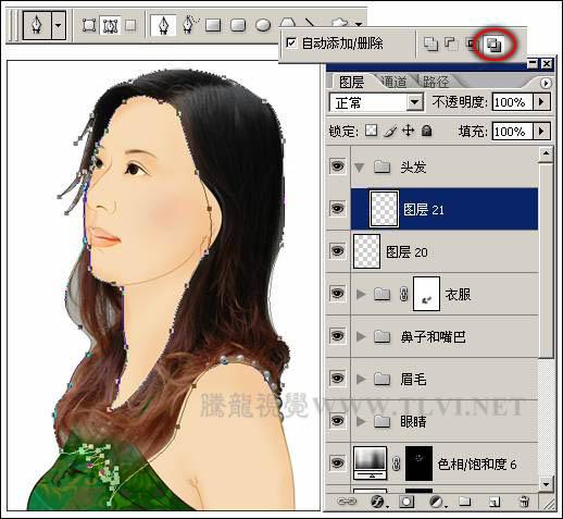 PS照片特效高级教程之图片转为古典工笔画