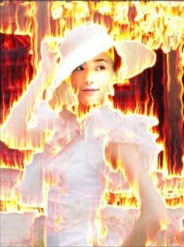 PS照片特效高级教程之打造烈火人像效果