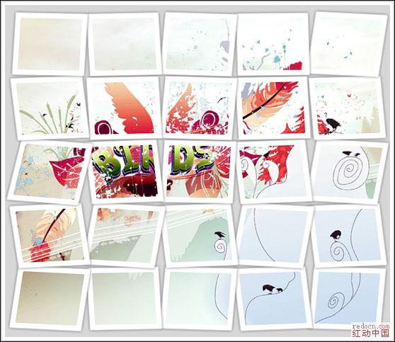 PS照片特效高级教程之制作方块拼贴图