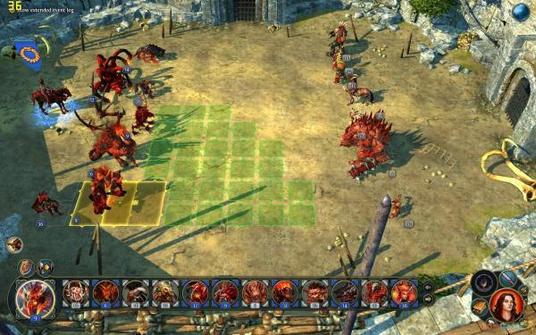 《魔法门之英雄无敌6》测试版用地狱和兽人的方法