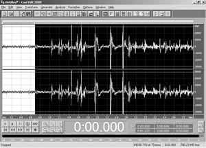 Cool Edit录制自己唱的MP3专辑