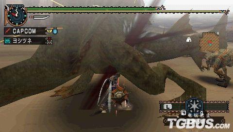 《怪物猎人2G》集会所下位之沙龙王讨伐 长枪篇