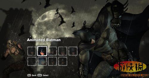 《蝙蝠侠:阿甘之城》不通关在剧情里使用所有皮肤方法