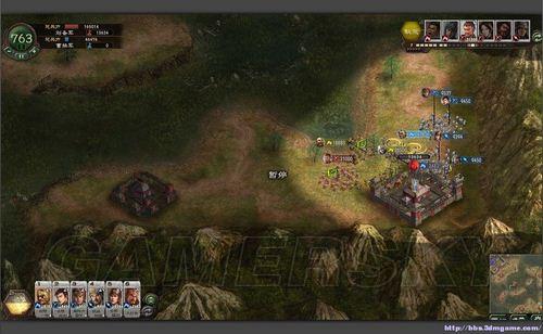 三国志12守城攻略 以6路人马面对绝地之策