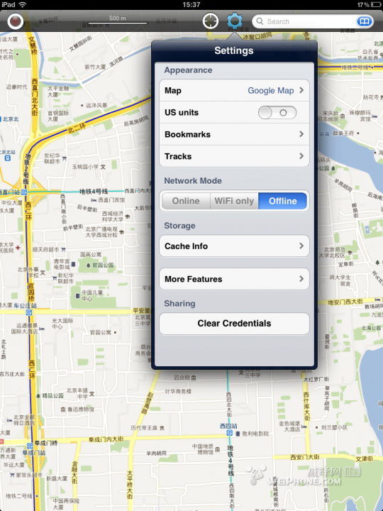ipad2制作离线地图教程