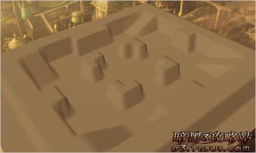 暗黑3竞技场,暗黑3竞技场地形介绍