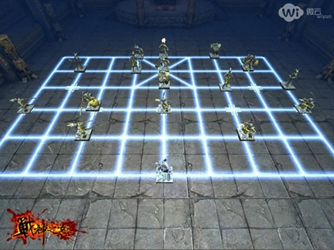 《战神之怒》快速通过中国象棋关卡的方法(iphone版)