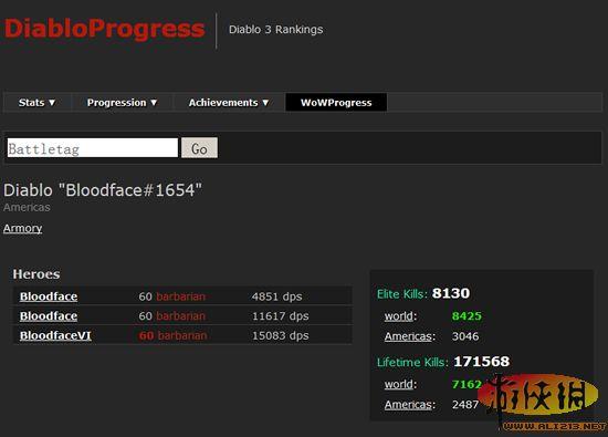 《暗黑破坏神3》如何查询你的dps排名