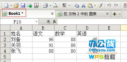 WPS文字中快速生成指定图表技巧