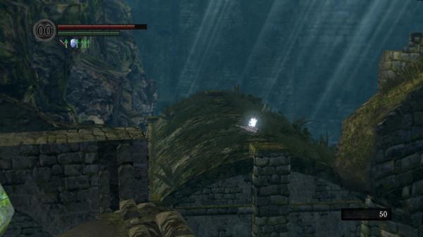 黑暗之魂传火祭祀场门口的屋顶怎么上