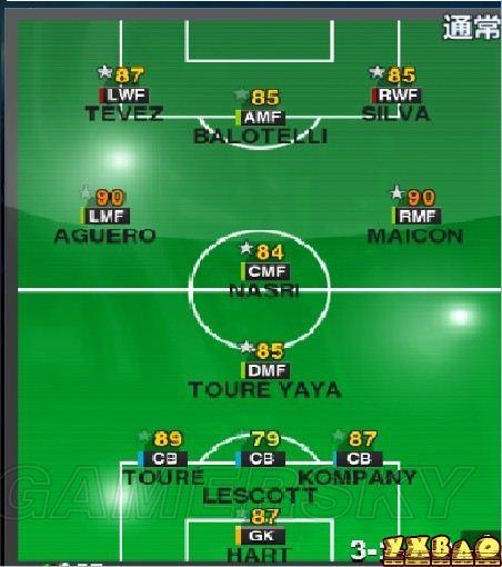 实况足球2013新作战术实练总结