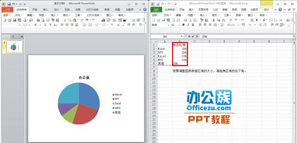 更改工作表中的数据