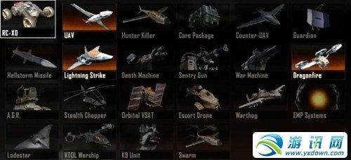 《使命召唤9》分数累积奖励物品一览