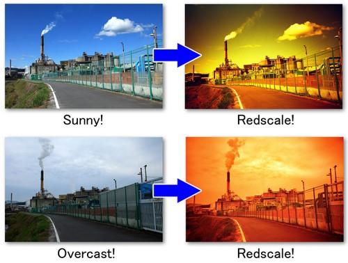 阴天如何驾驭Redscale拍照