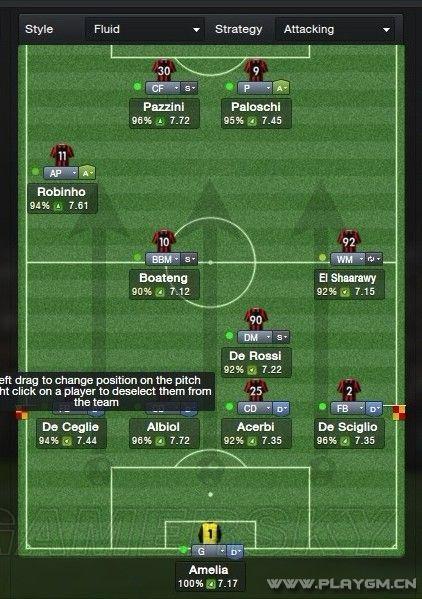 《足球经理2013》针对性设置在防守上的重要性