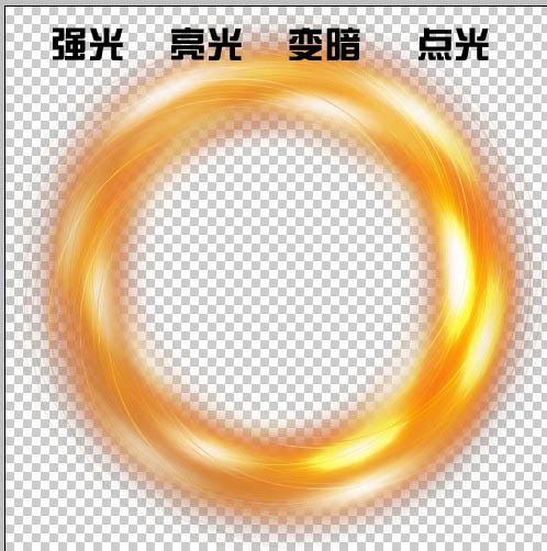 ps滤镜-打造漂亮彩色光环