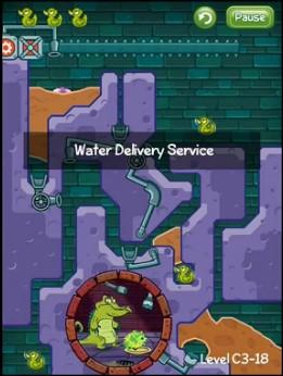 《鳄鱼小顽皮爱洗澡》之装满它:送水服务