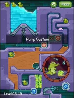 《鳄鱼小顽皮爱洗澡》之装满它:泵送系统