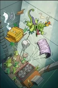 《鳄鱼小顽皮爱洗澡》之谨慎用风:第一扇