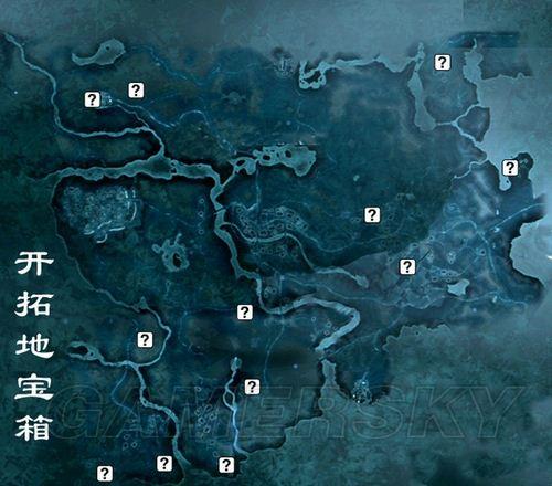 《刺客信条3》宝箱位置地图