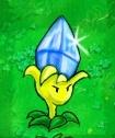 《植物大战僵尸2》新植物资料:水晶草