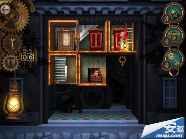 《豪宅之谜》第1-12关卡:安妮梯子还有衣柜三星攻略