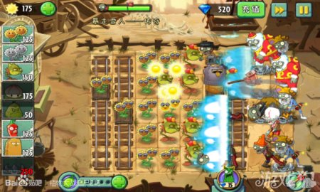 《植物大战僵尸2》雪人传奇火龙钢刺过关攻略