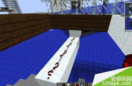 《我的世界》水流自动刷雪机攻略