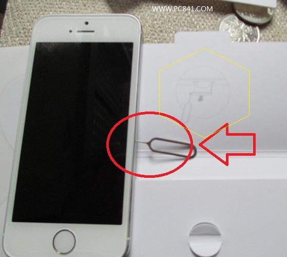 苹果iphone5s怎么安装sim卡