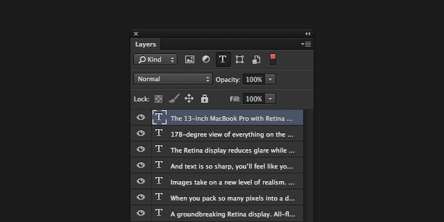 使用Photoshop文字功能的几个小技巧