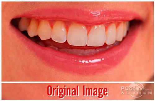 Photoshop打造洁白无瑕的牙齿