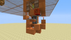 《我的世界》粘液块电梯攻略 占地面积仅3X5