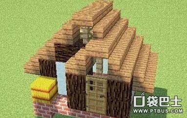 《我的世界》房屋建造技巧 蜗居小房屋制作解析