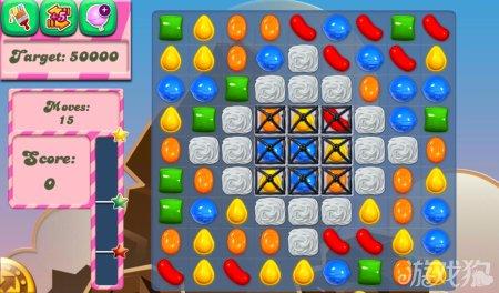 《糖果粉碎传奇Candy Crush Saga》46,47,48,49,50关过关攻略