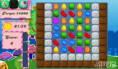 《糖果粉碎传奇Candy Crush Saga》56,57,58,59,60关过关攻略
