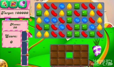 《糖果粉碎传奇Candy Crush Saga》71,72,73,74,75关过关攻略