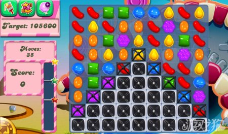 《糖果粉碎传奇Candy Crush Saga》86,87,88,89,90关过关攻略
