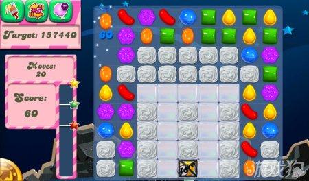 《糖果粉碎传奇Candy Crush Saga》96,97,98,99,100关过关攻略