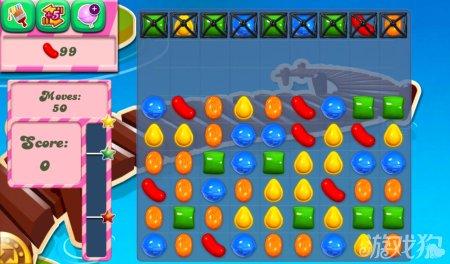 《糖果粉碎传奇Candy Crush Saga》127,128,129关过关攻略