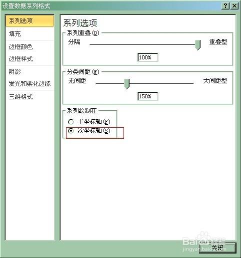 简单易学:在Excel图表中添加次坐标轴