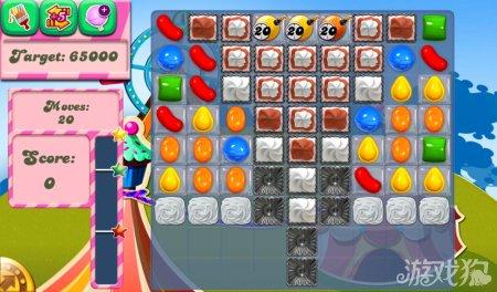 《糖果粉碎传奇Candy Crush Saga》172,173,174关过关攻略