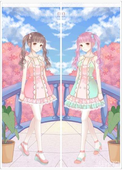 《暖暖环游世界》完美双子换装技巧分享