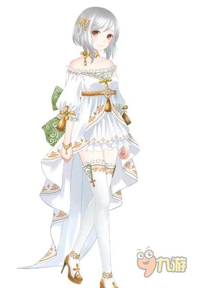 《暖暖环游世界》圣女传说套装限时购 中古世纪美人装