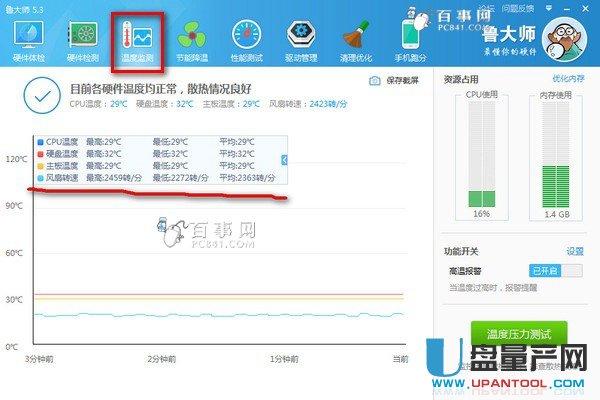 CPU风扇转速如何看?