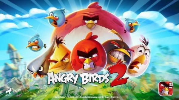 《愤怒的小鸟2》上架12小时下载量突破100万