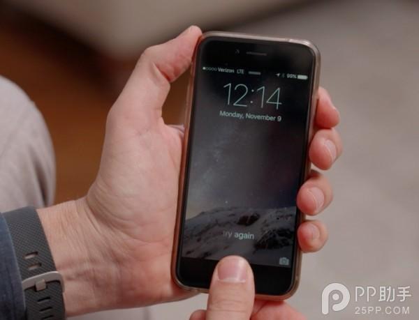 怎么让iPhone 指纹解锁速度更快