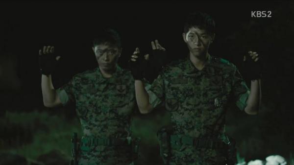 太阳的后裔13集大尉受伤原因全揭秘直播视频