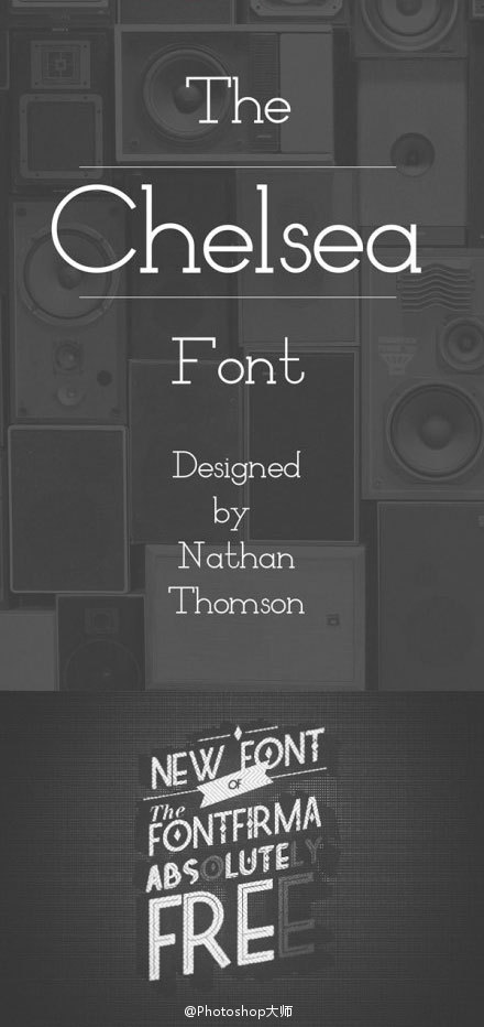 22款时尚photoshop国际范英文字体集免费下载