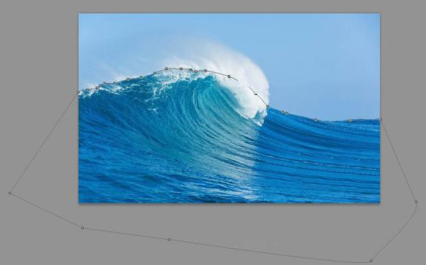 ps怎么快速抠图?海浪为例
